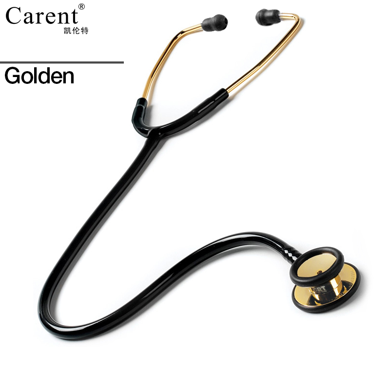 Carent High quality CRT858 medical professional small steel head stethoscope stethoscope For Doctor Nurse Vet Student fluorescent orange multifunction dual headed professional new medical clinical classic doctor stethoscope
