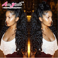 Full Lace Human Hair Wigs For Black Women Brazilian Loose Curly Full Lace Wig Virgin Hair Glueless Lace Front Human Hair Wig