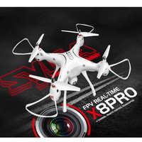 SYMA X8 Pro HD Aerial Drone Aircraft Large GPS Real Time Transmission 720p RC Aircraft