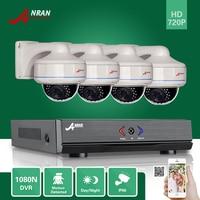ANRAN 4CH 1080N HDMI AHD DVR 720P CCTV 30 IR Day Night Vandal Proof Dome Home