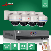 ANRAN 4CH 1080N HDMI AHD DVR 720 P CCTV 30 IR Dag Nacht Vandalismebestendig Dome Home Video Security Camera Surveillance System