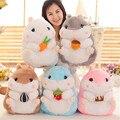 Японские куклы симпатичные жира хомяк, морская свинка закуски ткань куклы, плюшевые игрушки, детские подарки на день рождения, рождественские подарки