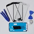С Инструментами Клей Высокое Качество Передняя Внешний Экран Защитное Стекло Объектива Замена Для Samsung Galaxy S4 i9500 i9505 Бесплатная Доставка