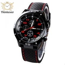 Hot Sell Men Stainless Steel Analog Silicone Quartz Fashion Outdoor Sport Wristwatches Student Watches Gift Male Military Watch