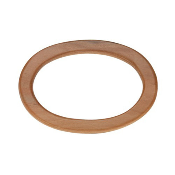 Free Shipping Wooden Ring Bag Handle 5 1/4x3 5/8 Fashion Wooden Purse Handle Bag Accessories Purse Frame