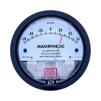 3000PA Digatal analog professional clean room differential pressure gauge Manometer gas air table pressure with high precision