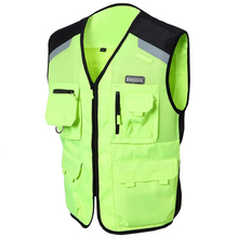 NEW NERVE Motocross Off-Road Jaqueta Oxford VEST mesh design summer style Motorcycle Racing Moto VEST, Reflective nigh using
