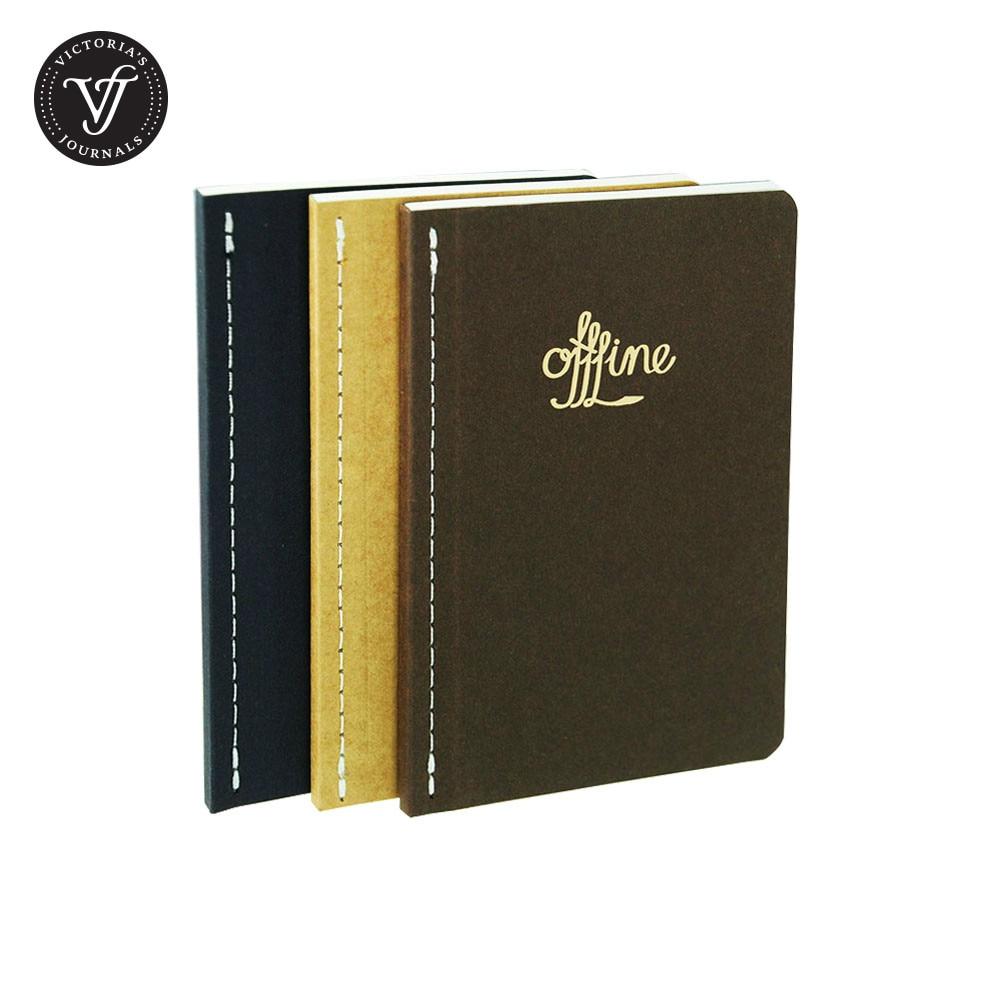 Victoria's Journaler OFFLINE JAPANESE NOTER Notebook Journal 3 Pieces - Block och anteckningsböcker - Foto 1