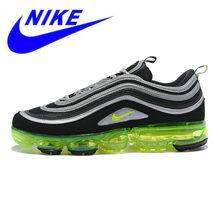 best service 66f8d cc75a Nike aire Vapormax 97 Japón de los hombres zapatos Shock transpirable y  absorbente antideslizante ligera verde y negro AJ7291 00.