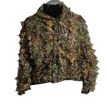 Leaf Ghillie Suit Woodland Camo Camouflage Jungle Hunting Clothing