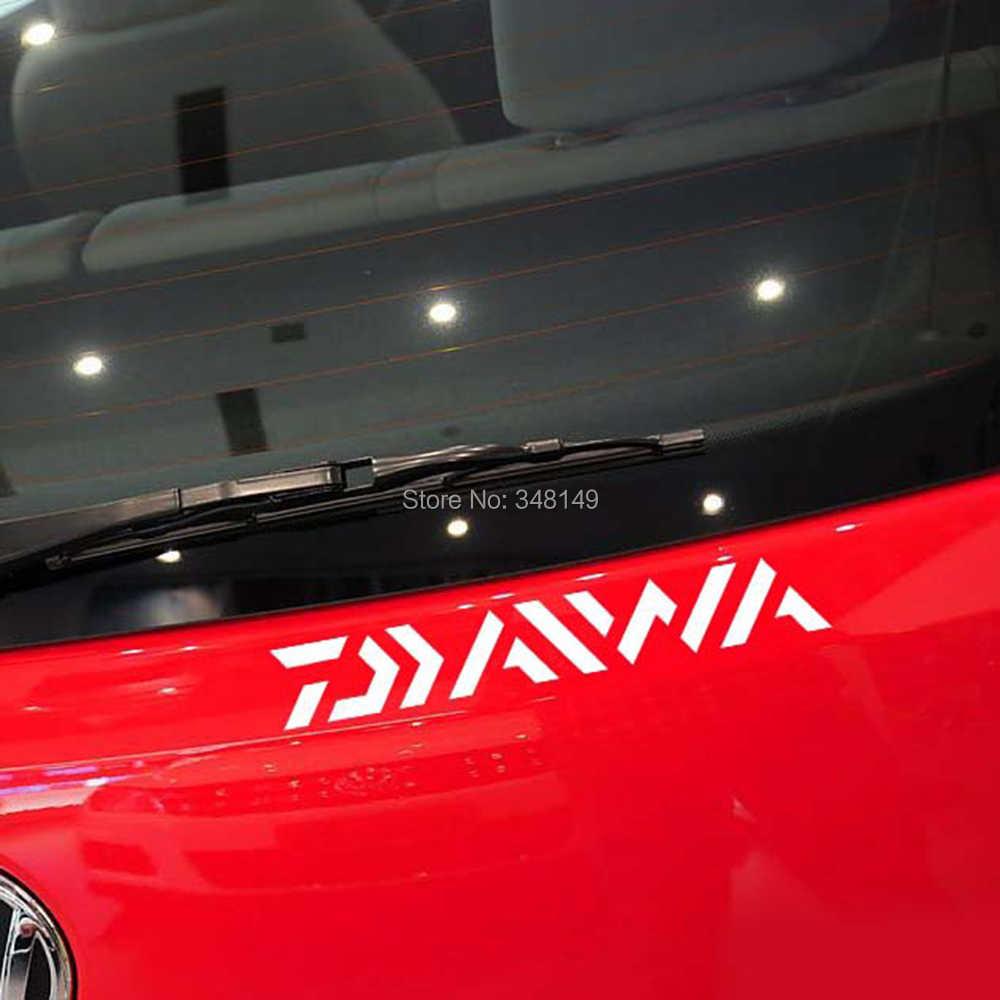 Aliauto Mobil Styling Pergi Memancing Daiwa Merek Mobil Stiker dan Stiker untuk Chevrolet Cruze Ford Focus Mazda 3 Skoda Octavia VW Kia