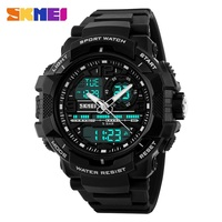 Big Dial 2016 SKMEI Men S Digital Watch S SHOCK Military Clock Men Watch Water Resistant