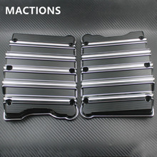 Motorcycle Rocker Box Top Cover Aluminum For Harley Touring Electra Glide Road King Dyna Fat Bob Softail Twim Cam 1999-2017