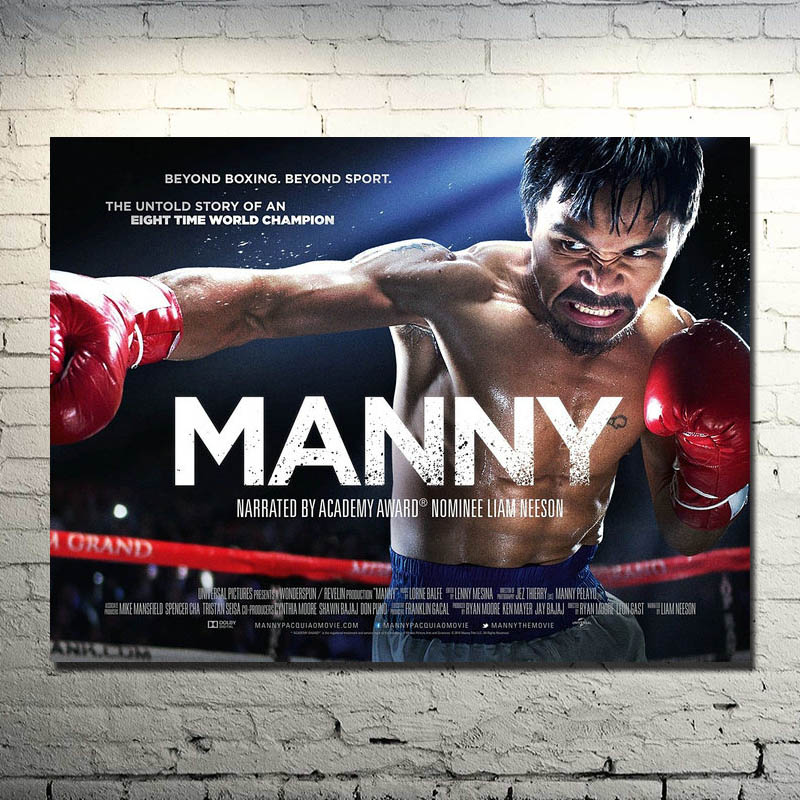 Manny Pacquiao Boxing Movie 2015 Art Silk Poster 13x18 24x32inch (NEW) 02 image