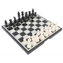 Offer! Game of Chess pieces of Gold, Silver, Contemporary Magnetic Folding Board Games, Game, Family Fun, Christmas Gifts