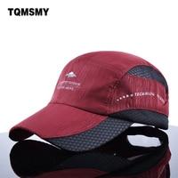 2015 Snapback Baseball Caps For Men And Women Summer Sun Hat Sport Flat Cap Quick Dry