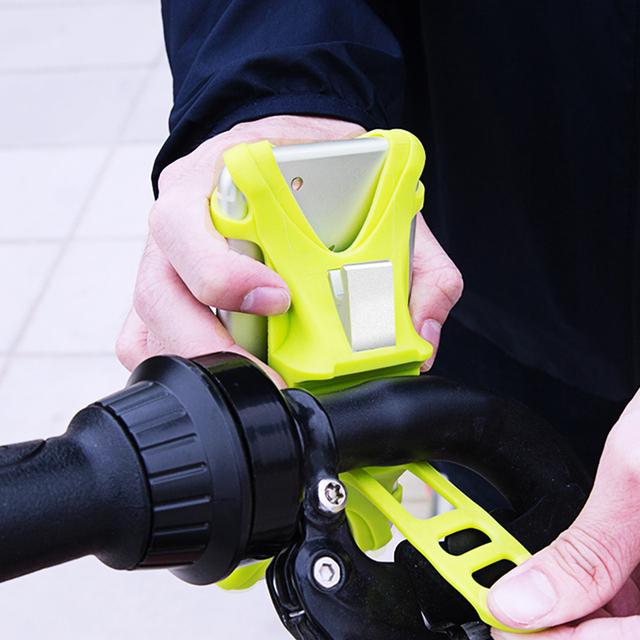 Baseus Bike Phone Holder For iPhone Samsung Huawei Stand Bicycle Mount Holder For Mobile Cell Phone GPS Handlebar Holder Bracket