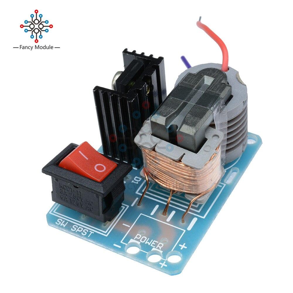 15kv High Frequency Dc Voltage Arc Ignition Generator Inverter Homemade 12v Wire Diagram Boost Step Up 18650 Diy Kit U Core Transformer Suite 37v In Instrument Parts
