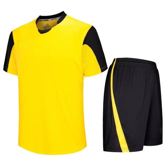Customized team soccer jerseys 2016 2017 the best quality football uniforms maillots de foot cheap jerseys LD-5011