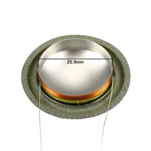 Image 2 - Cho B & W Loa Sửa Chữa 25.9mm 1.02 inch Tweeter cuộn dây Bằng Giọng Nói 8ohm 26 Core Titanium Hoành Độ Nhạy Cao cùng một Bên 1 Cặp