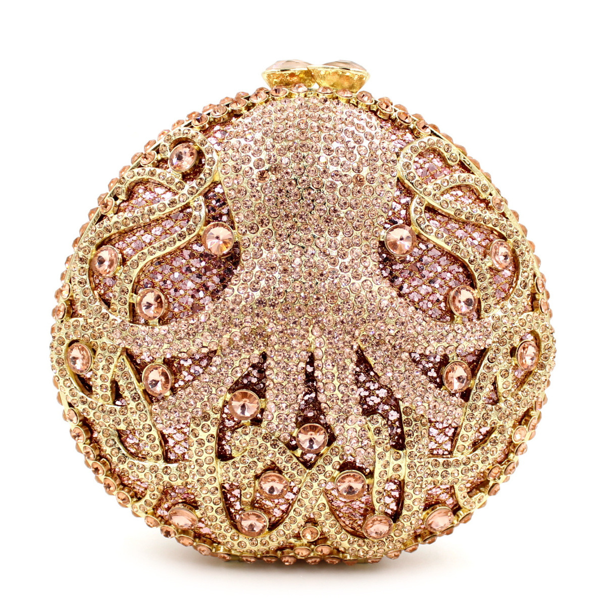 Of Direct Selling New Arrival 2017 Selling For Octopus Diamond Evening Bag High-grade Hand Full Dinner Package On Behalf Of The