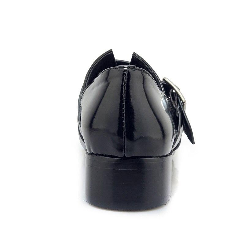 Faible 2019 En Femme À Décoration Printemps flock Pour Pompes Black Noir Métal L'extérieur Zvq Bout Pointu Nouvelle Black Talon Carré Mode Dames Chaussures Leather wqxZtZv4S