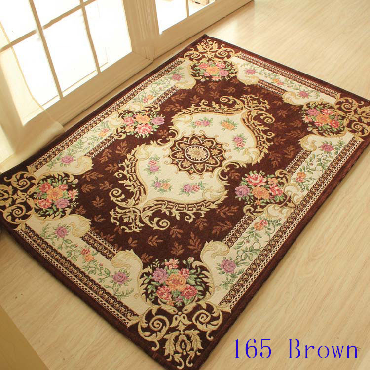 Europe style rugs and carpets for home living room,Romantic coffee table mat 100cmX140cm