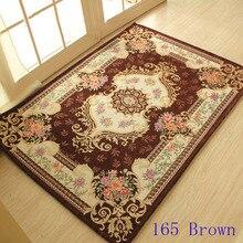 Европейский стиль ковров и ковровых покрытий для дома гостиная, романтические журнальный столик мат 100 см x 140 см
