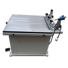 stainless steel silk screen printer with vacuum
