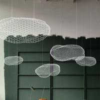 Feuilletée nuages Plafonniers LED pour salon Café Restaurant Bar Enfants Hall D'exposition de Nuages de Plafond Lampes CL