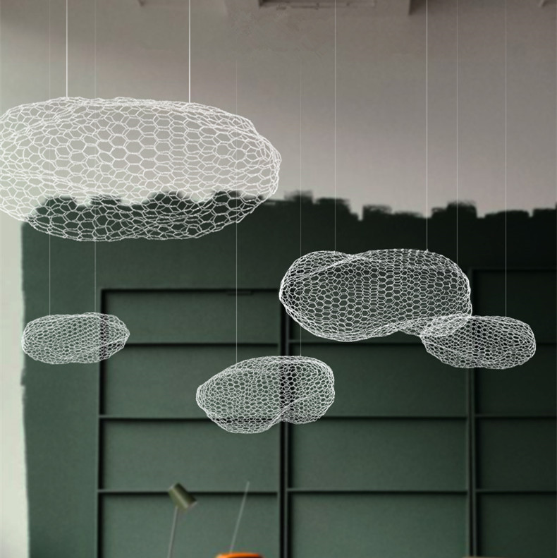 Flaky clouds Ceiling Lights LED for living room Cafe Restaurant Bar Children's Exhibition Hall Clouds Ceiling Lamps CL clouds without rain