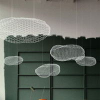 Flaky clouds Ceiling Lights LED for living room Cafe Restaurant Bar Children's Exhibition Hall Clouds Ceiling Lamps CL