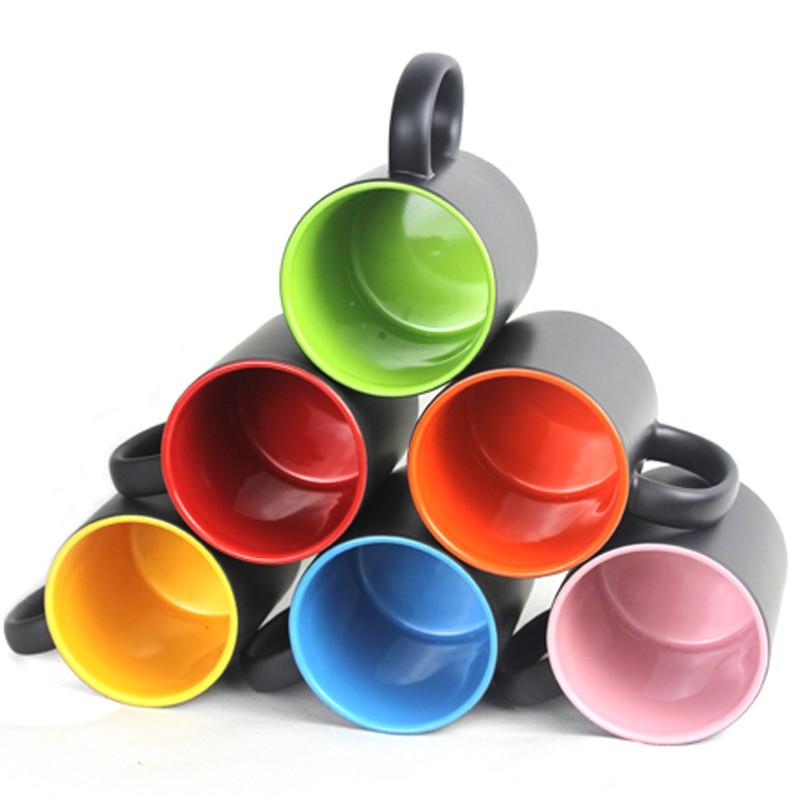 Gula Tengkorak keren foto morphing mug kopi morph mug novelty panas  mengubah warna transformasi dicetak Teh|morphing mug|coffee mugheat  changing - AliExpress