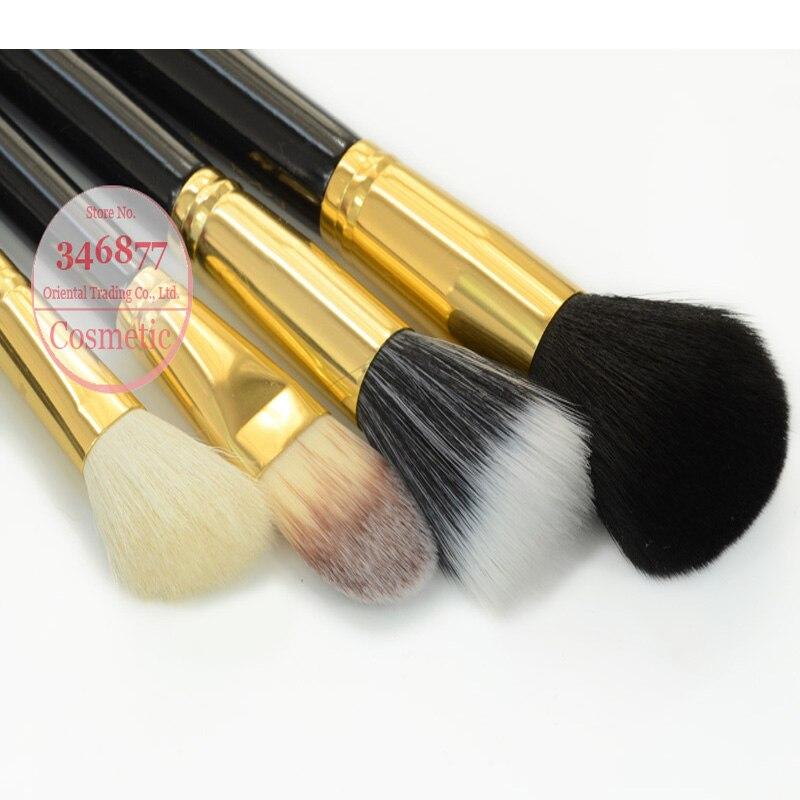 Professional 12Pcs Face Brand Makeup Brushes Set with Zipper Leather Bags, Cosmetic Makeup Brush Set, Make Up Brush Set Case кабель orient c667 разъем bnc для коаксиального кабеля rg 59 под винт с пружиной