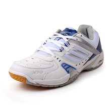 Men Badminton Shoes Training Breathable Hard-Wearing Anti-Slippery Lace-Up Light Sneakers Sport Shoes