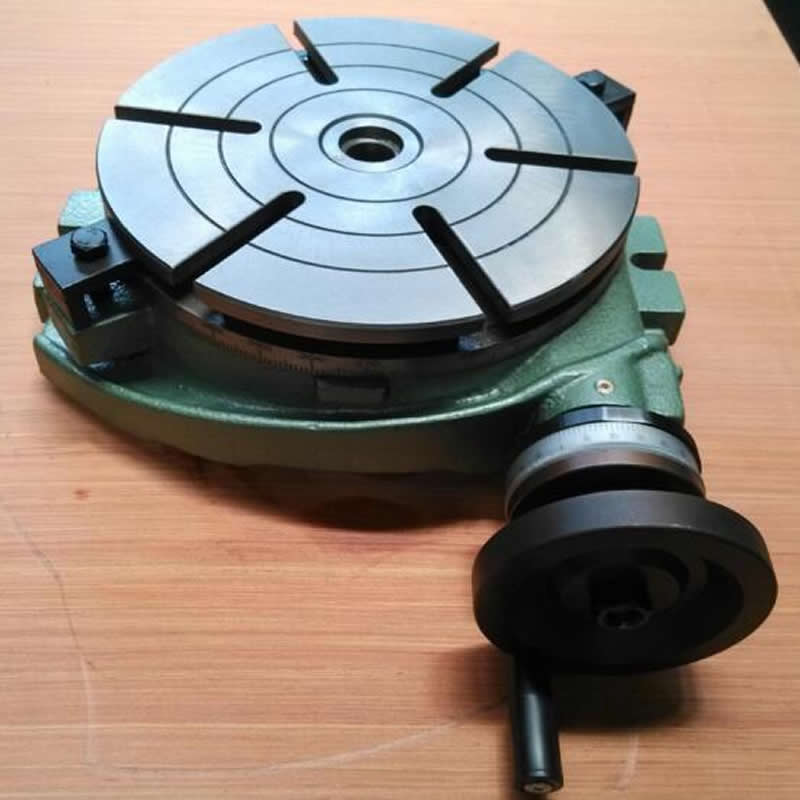 Milling table rotary table, rotary indexing plate TS200A (plate surface 200mm) horizontal fixed scale table-in Tool Parts from Tools    1