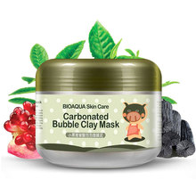 BIOAQUA Skin Care  Repair Face Cream Carbonated Blackhead Remover Mask Bubble Whitening Moisturizing Facial Masks