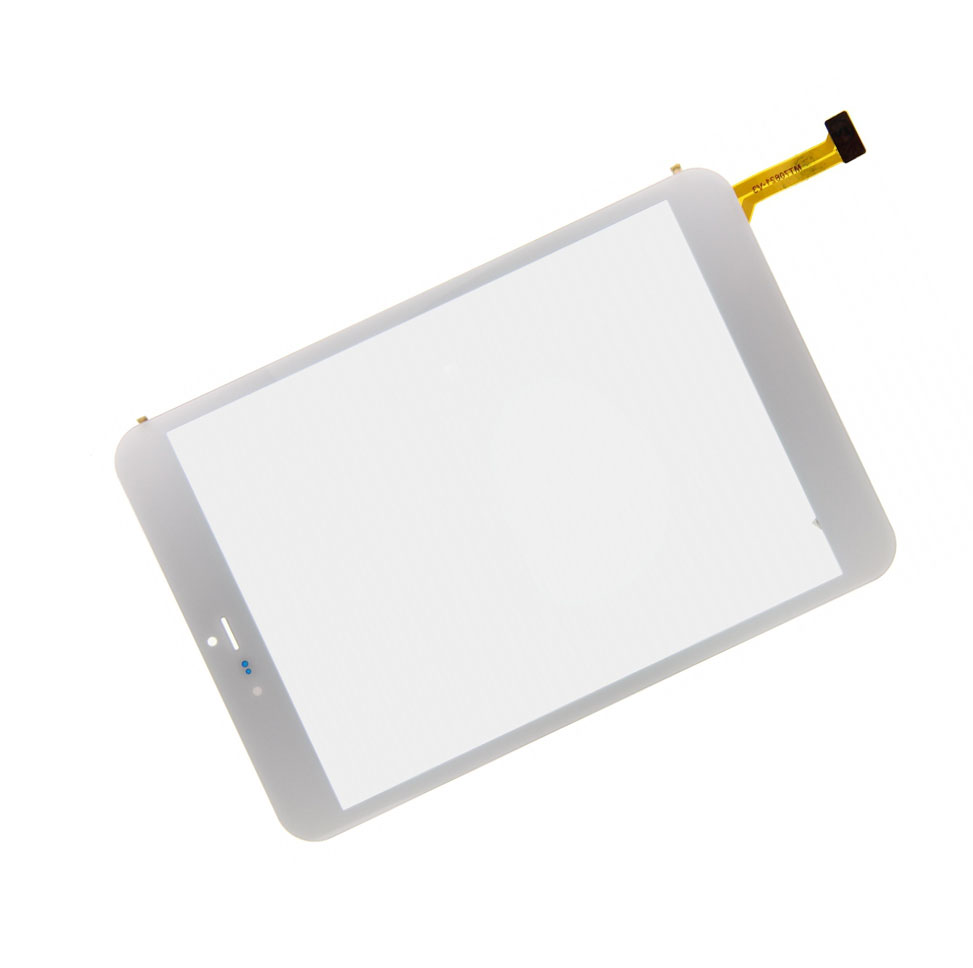 New White 7.85 inch Digitizer Touch Screen Panel glass For
