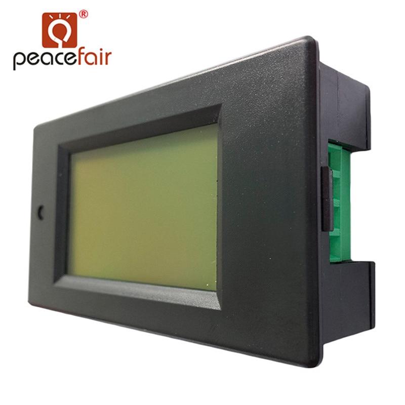 Peacefair AC monofásico LCD digital Amperímetro Voltímetro 80-260V - Instrumentos de medición - foto 3
