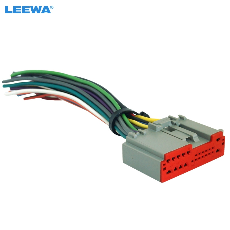 Leewa Car Radio Player Wiring Harness Audio Stereo Wire Adapter For Ford Escape  Explorer  F 150