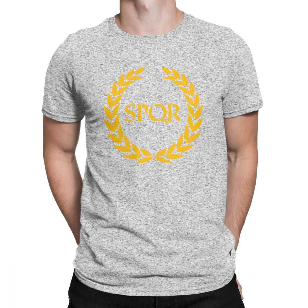ba2fc491ab0 Camp Jupiter SPQR T-Shirt Annabeth Chase Annabeth Percy Jackson New Rome  Men T Shirt Hipster Purified Cotton Short Sleeve Tees