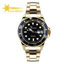 Wealthstar relogio hombres deportes relojes correa de acero inoxidable de lujo del negocio de los hombres relojes de pulsera hombres fshion relojes casuales