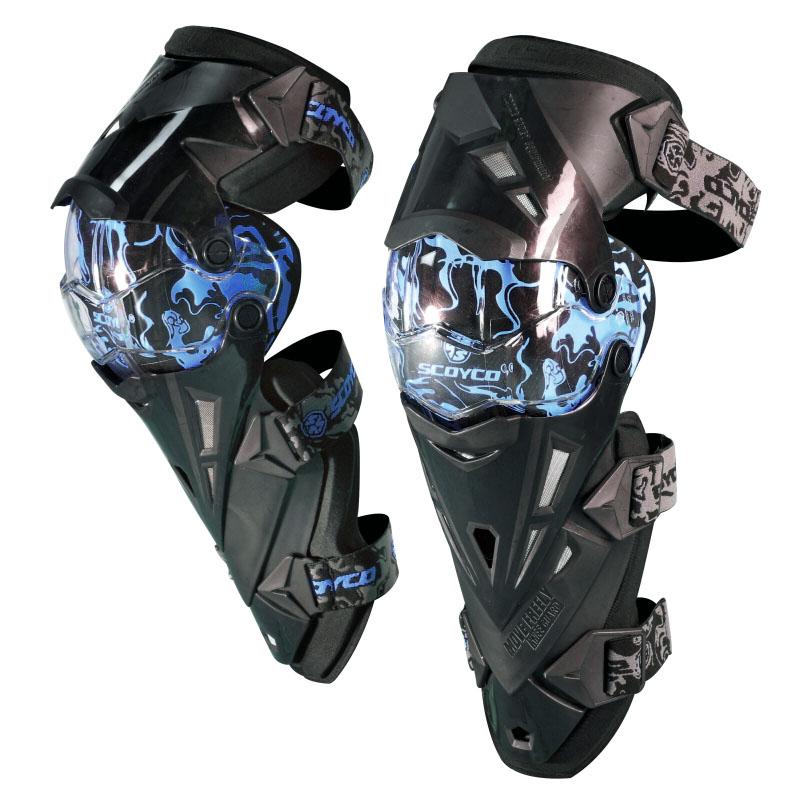 Prix pour SCOYCO Professionnel Moto genou protecteur Motocross équipement Descente Dirt Bike VTT MX protecciones Off Road Racing genouillère