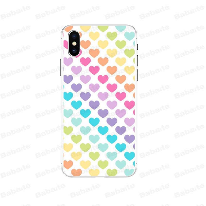 Babaite Nhỏ tươi tình yêu Cao Cấp Thiết Kế Độc Đáo Ốp Điện Thoại cho iPhone 7 7 Plus 5 5Sx 6 8 8Plus X XS MAX XR