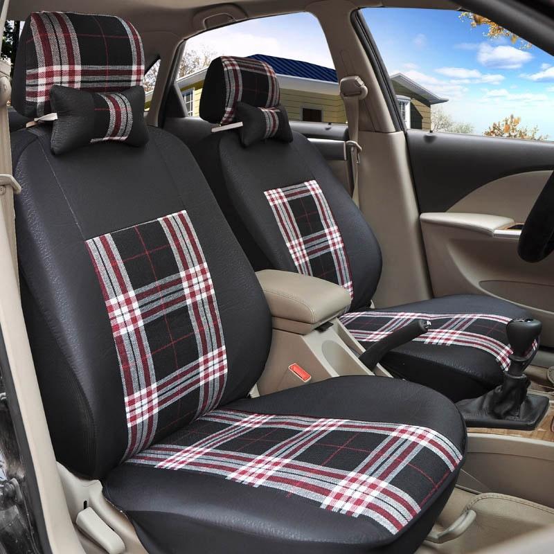 flax Universal car seat covers For Audi Porsche Opel Toyota Infiniti Honda Nissan Mazda Lexus Jeep Subaru accessories styling