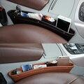 1 Pc Black Storage Bags Organizer Box Caddy Car Seat Slit Pocket Car Pouch