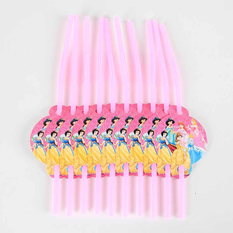 90 ピース/ロット 94pcs 装飾パッケージ子供の誕生日パーティー使い捨て用品カッププレートわらナプキン旗