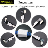 Wozniak 9302 Power Line New For IPhone Maintenance Anti Burn Line Built In Chip Support For