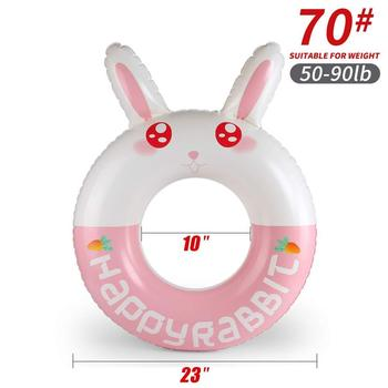 Cartoon baby accessories kids penguin float swimming ring durable children summer swim pool accessories circle floating - K5008-70