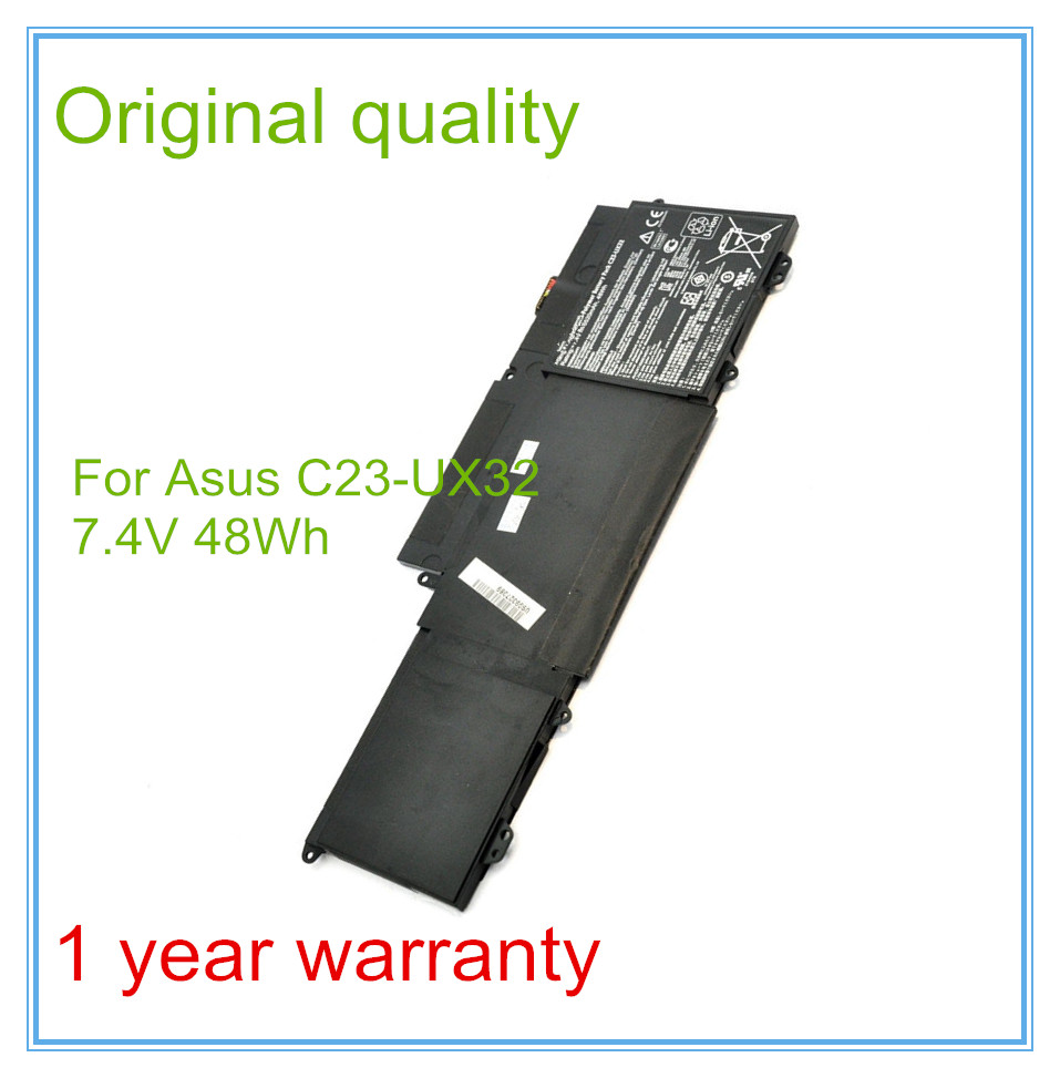 Original New Laptop Battery for X32VD UX32A U38N UX32 Battery C23-UX32 48WH 6520mAh lmdtk new 12 cells laptop battery for dell latitude e5400 e5500 e5410 e5510 km668 km742 km752 km760 free shipping
